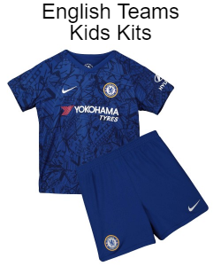 27359155bef Top quality kids football kits and adult shirts many of the top English  Premier League, European and International teams